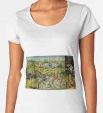 The Garden of Earthly Delights by Hieronymus Bosch Women's Premium T-Shirt