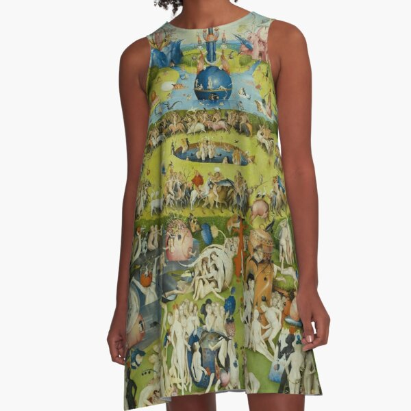 The Garden of Earthly Delights by Hieronymus Bosch A-Line Dress