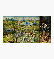 The Garden of Earthly Delights by Hieronymus Bosch Photographic Print