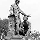 Abraham Lincoln Freeing A Slave At The Emancipation Memorial -- 6 by Cora Wandel