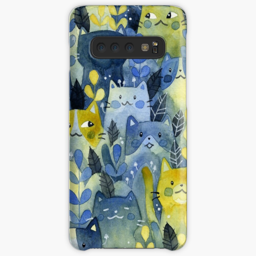 kitty forest Case & Skin for Samsung Galaxy
