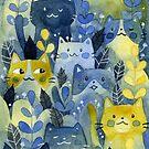 «bosque de gatitos» de Calista Douglas