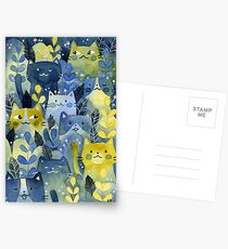 kitty forest Postcards