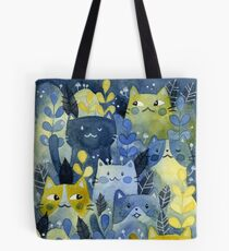 kitty forest Tote Bag