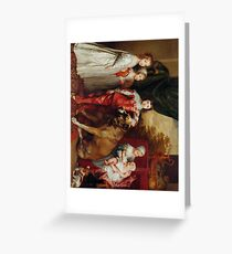 Five Eldest Children of Charles I 1637 Anthony Van Dyck Greeting Card