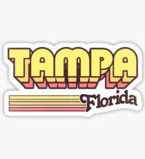 Tampa, FL | City Stripes Sticker