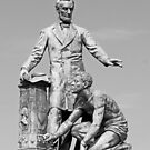 Abraham Lincoln Freeing A Slave At The Emancipation Memorial -- 4 by Cora Wandel