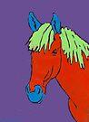 Simple Horse  by Juhan Rodrik