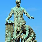 Abraham Lincoln Freeing A Slave At The Emancipation Memoria -- 3 by Cora Wandel