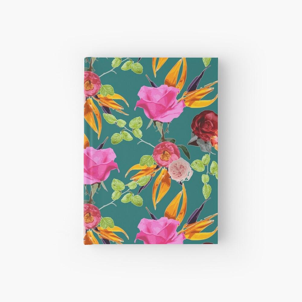 Chaman Garden (verde) Cuaderno de tapa dura