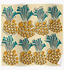 pineapple summer Poster