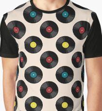 Vinyl pattern Graphic T-Shirt