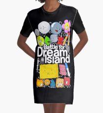 BFDI Poster Black Graphic T-Shirt Dress