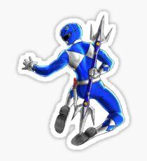Billy - The Blue Mighty Morphin Power Ranger Sticker