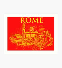 Rome - The Imperial Forums Art Print