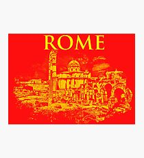 Rome - The Imperial Forums Photographic Print