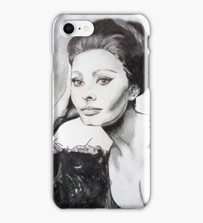 Sophia Loren iPhone Case/Skin