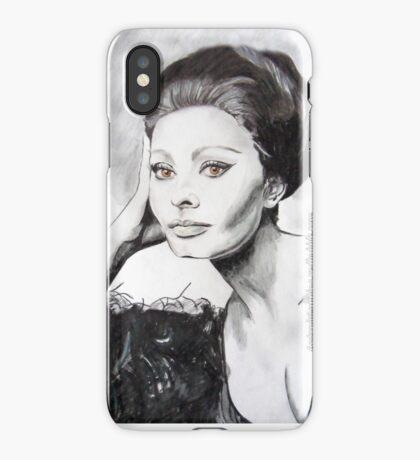 Sophia Loren iPhone Case/Skin