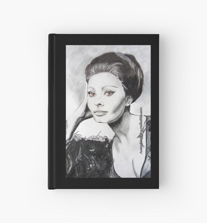 Sophia Loren by Antonio  Luppino