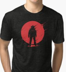 Red Sphere Tri-blend T-Shirt