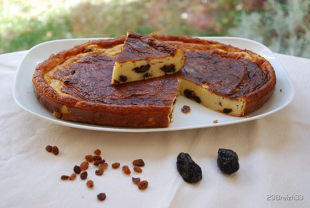 Far Breton aux pruneaux     Brittany prune (dried plum) cake by 29Breizh33