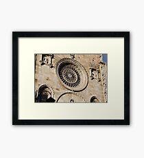 Italian architecture Framed Print