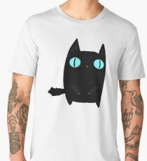 Fat Black Cat Men's Premium T-Shirt