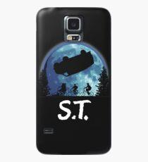 Funda/vinilo para Samsung Galaxy Cosas extrañas y E.T.