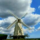 White Windmill by missmoneypenny
