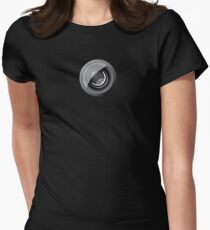 Lens camera Women's Fitted T-Shirt