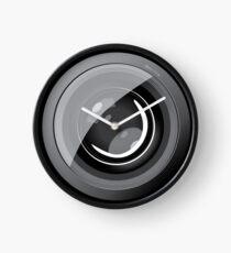 Lens camera Clock