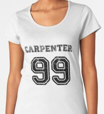 a10a6d244d Camiseta premium para mujer Carpenter 99