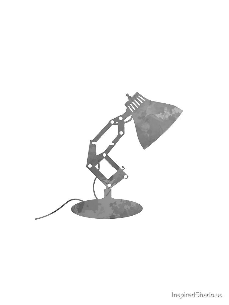 Lampe inspiriert Silhouette von InspiredShadows