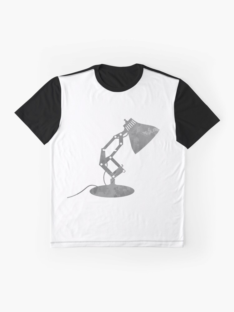 Alternative Ansicht von Lampe inspiriert Silhouette Grafik T-Shirt