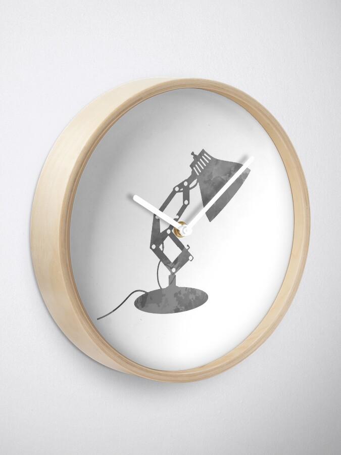 Alternative Ansicht von Lampe inspiriert Silhouette Uhr