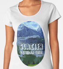 Montana Glacier National Park Women's Premium T-Shirt