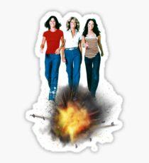Angels Explode !! Sticker