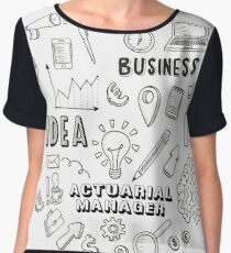 ACTUARIAL MANAGER Chiffon Top