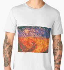 Acrylic painting of surreal landscape  Men's Premium T-Shirt