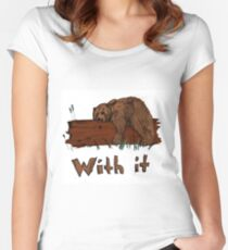 Bear With It Women's Fitted Scoop T-Shirt
