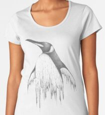 Digital Penguin  Women's Premium T-Shirt