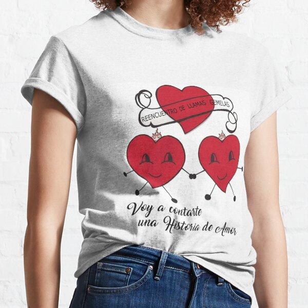 Tres corazones Camiseta clásica