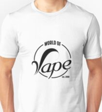 world of Vape est. 2000 Unisex T-Shirt