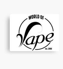 world of Vape est. 2000 Canvas Print