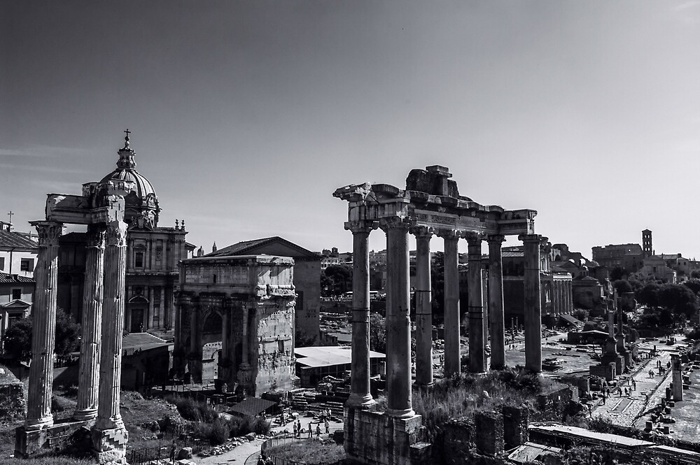 Whispers from the Past - Rome, Italy by Andrea Mazzocchetti