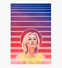 Gillian Anderson - 1968 - No characters Photographic Print