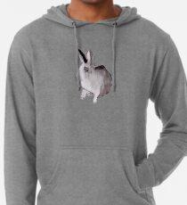 Aquarell Kaninchen Leichter Hoodie