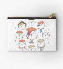 The 9 Lives of David Meowie Studio Pouch