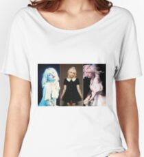Courtney triptych  Women's Relaxed Fit T-Shirt