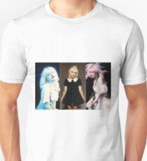 Courtney triptych  T-Shirt